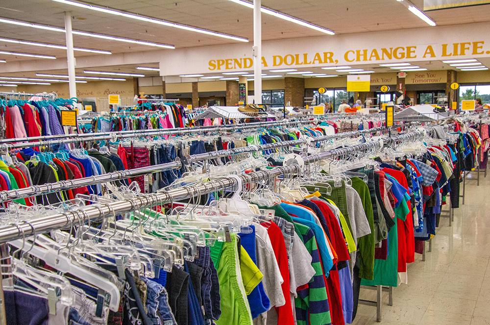 Shop At The Rockford Rescue Mission Thrift Store And