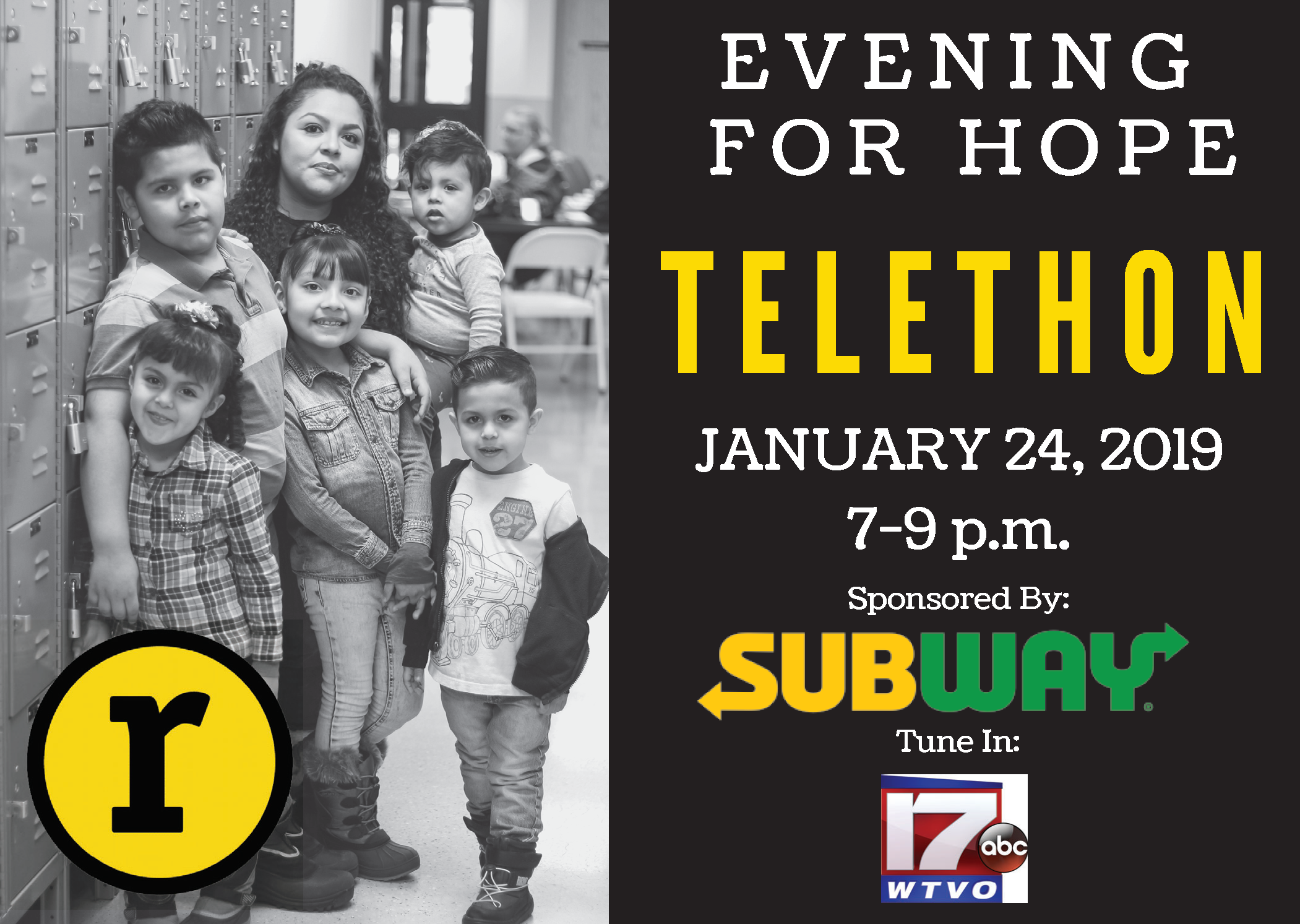 21st Annual Evening of Hope Telethon - Rockford Rescue Mission