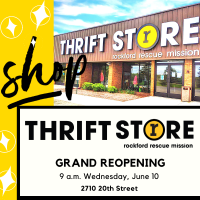 grand reopening thrift store