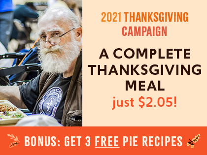 A complete Thanksgiving meal is just $2.05